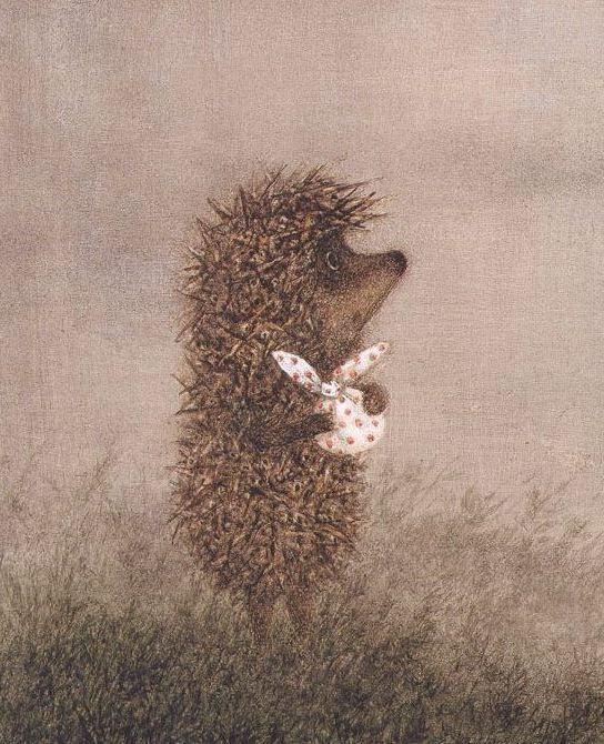 где приходится картинка ежик скучает по медвежонку человек