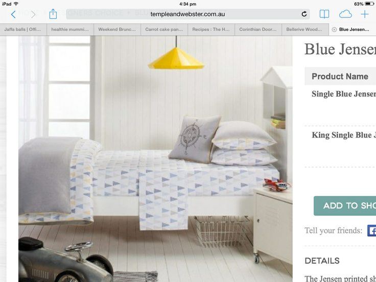 Love this bedding for Sidney