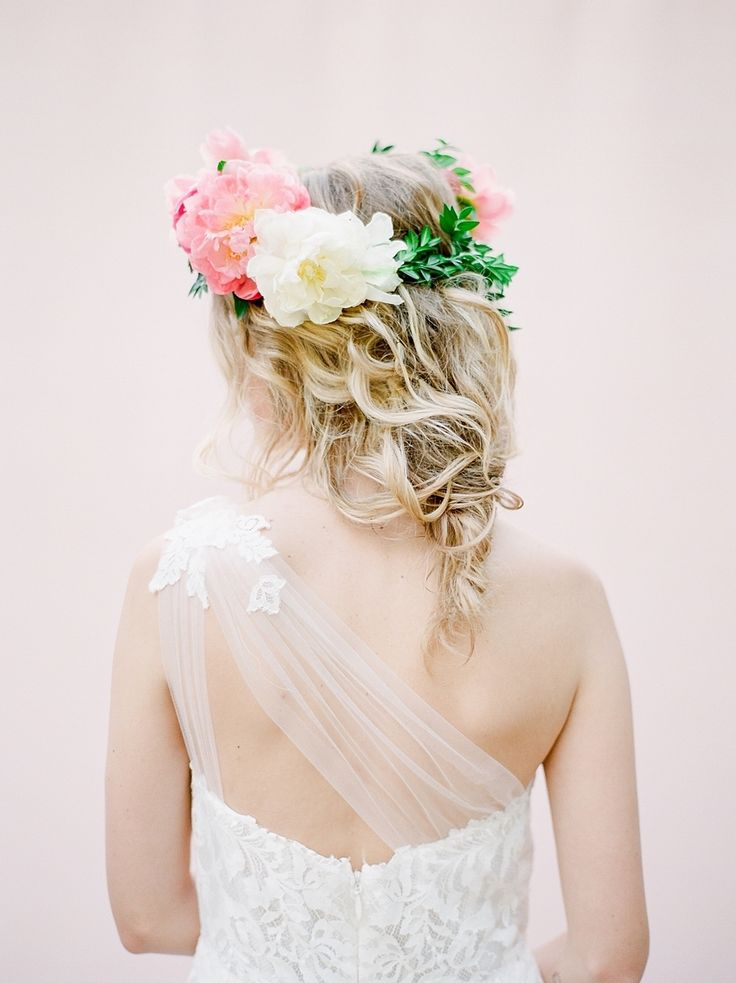 Colorful Whimsical Bridal Style Inspiration  //  Style Me Pretty