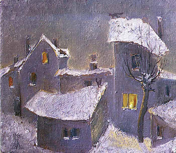 Андрей Мещанов  «Архитектоника зимы»