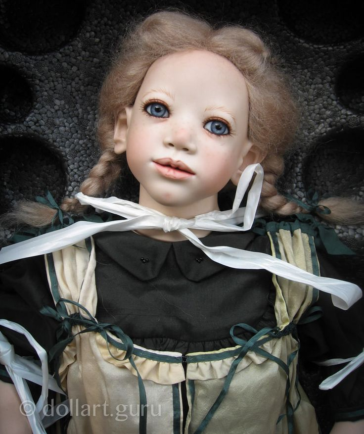 Lisbeth. Коллекционная фарфоровая кукла Annette Himstedt | Doll Art Guru