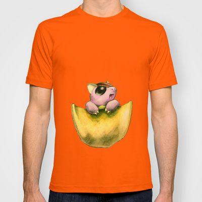 PK T-shirt by Sabrina Potocnik - $22.00, Pokemon pouch, Kangaskan