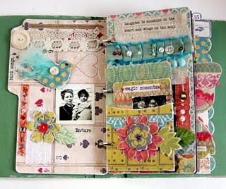 SMASH!Glueart, Minis Album, Artists Journals, Smash Book, Glue Art, Art Journals, Junk Journal, Altered Art, Smash Journal
