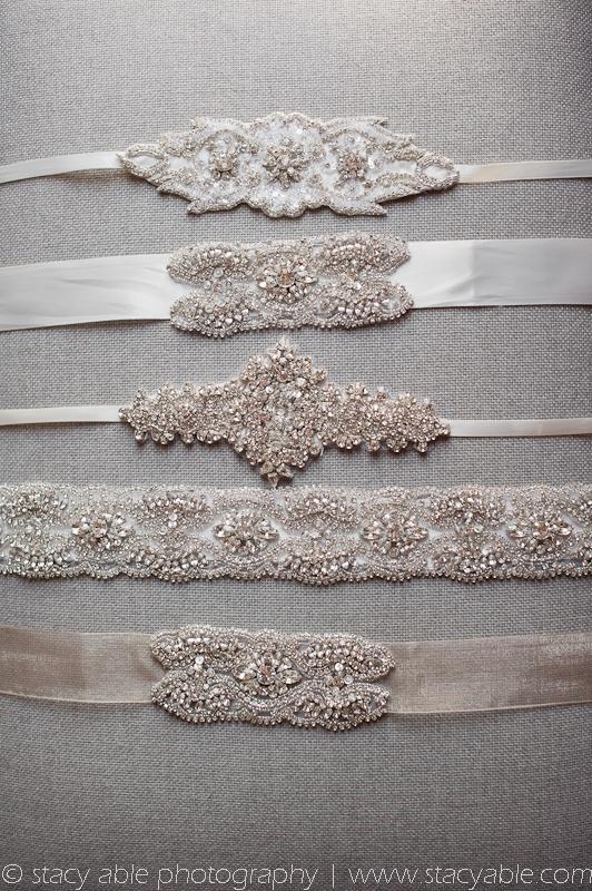 Crystal garters