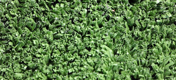 Play Synthetic Lawn was designed to withstand hard surface use and is great especially for ball sports  like tennis, badminton and basketball. #TurfGreen #artificialgrass #artificialturf #syntheticgrass #syntheticturf #faketurf #fakegrass #nomowgrass #astroturf #turfinstallation #buyturf