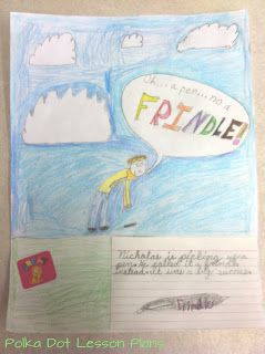 Fun activities to do with the book Frindle by Andrew Clements