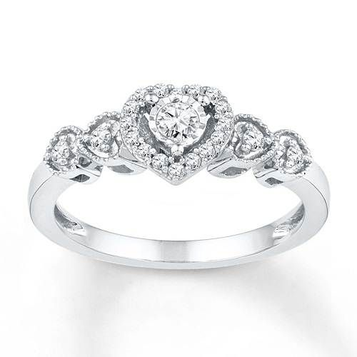 Famous Kay Jewelers Promise Rings Options for Valentine Gift