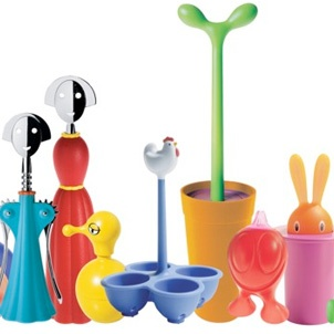 """Alessi toilet brush category name is """"Merdolino"""" - you figure it out."""