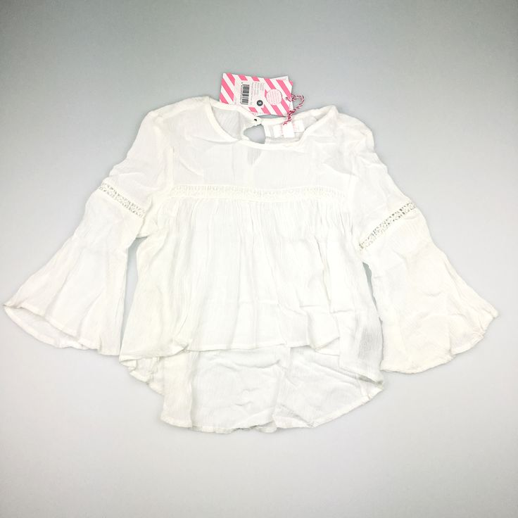 PUMPKIN PATCH, girl's crinkle woven top, brand new with tags (BNWT), size 5, $19 (RRP $39.99) #kidsfashion #girlsfashion #pumpkinpatch