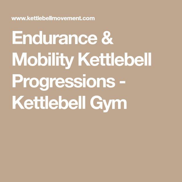 Endurance & Mobility Kettlebell Progressions - Kettlebell Gym