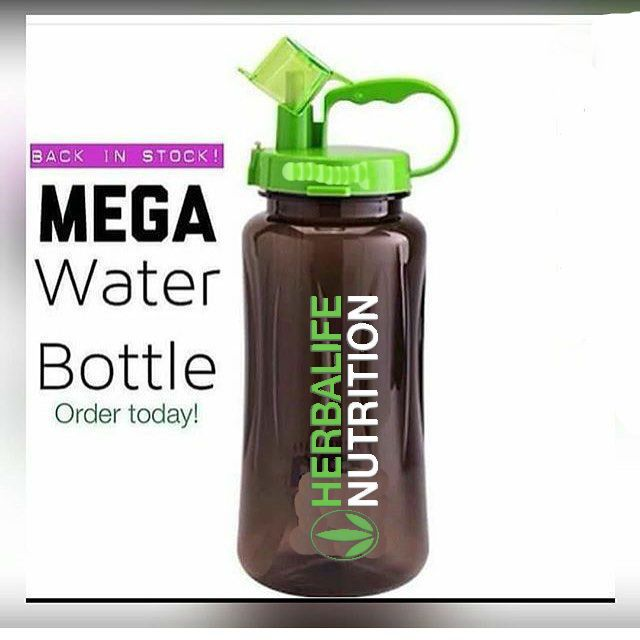 Herbalife Nutrition Mega Half Gallon 64oz Tritan 2L Shake Bottle Herbalife24 FIT #HherbalifeNutrition