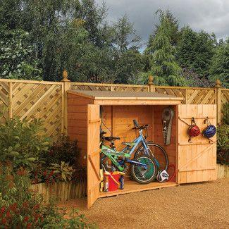 <strong>Rowlinson</strong> 183 cm x 92 cm Fahrradschuppen aus Holz