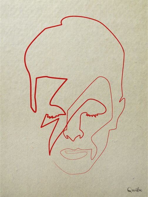 Quibe - One Line David Bowie