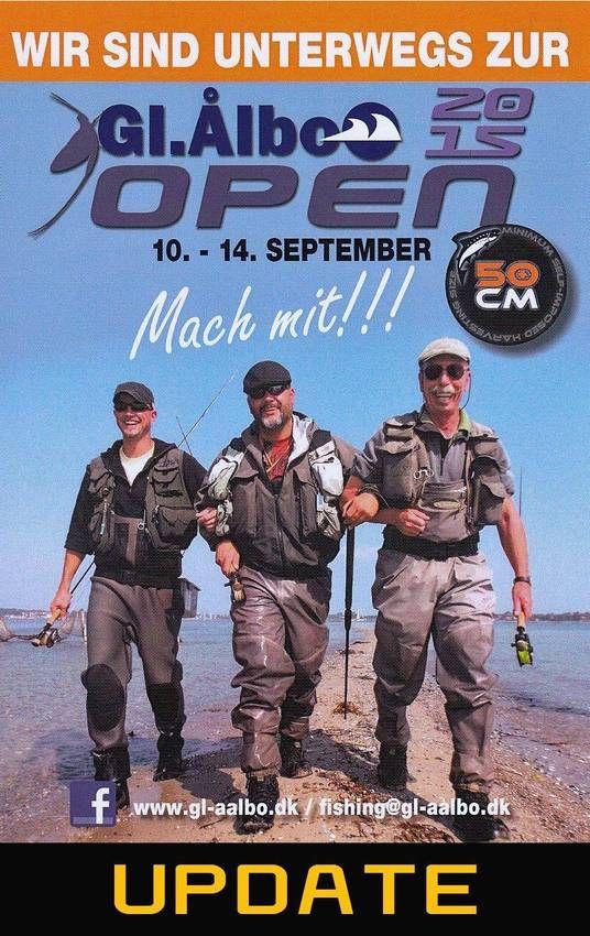 Gl-Aalbo Open 2015 mehr Infos ??? Dann Klicke das Bild !!!   http://gl-aalbo-open.com #Angeln #Dänemark #Fliegenfischen