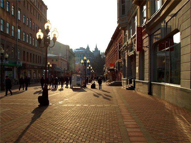 Мосгуберния.RU Арбат Достопримечательности Москвы