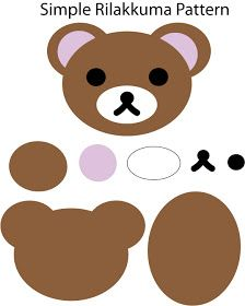 "~Rilakkuma Pattern.Template~ P/s : Simple but cute:).. How to made this ..Feel free refer "" Rilakkuma's Tutorial ""   Disclai..."