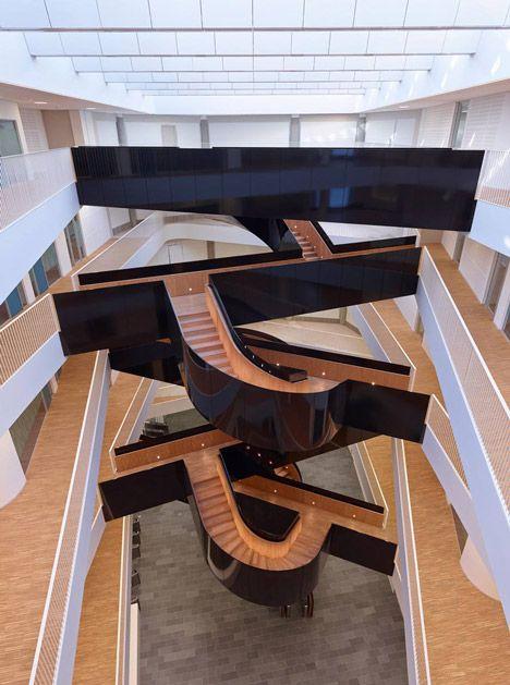 un city - copenhagen - 3xn - int stair