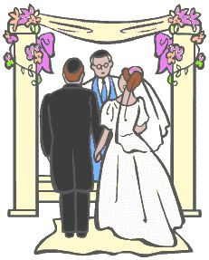 The Jewish Wedding - Jewish Celebrations The bride and groom stand under a canopy, which is called a huppah. This stands for the new home that they will share together
