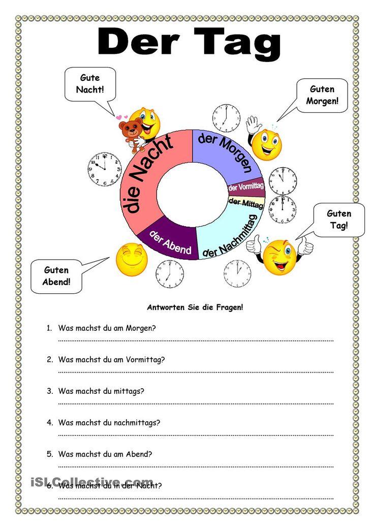 Uhrzeit Arbeitsblatt Daf : Die besten ideen zu tagesablauf vorschule auf pinterest