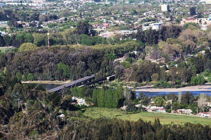 Panoramio Talca | Panoramio - Photo of Puente Rio Claro Talca (Mirador Cerro La Virgen)