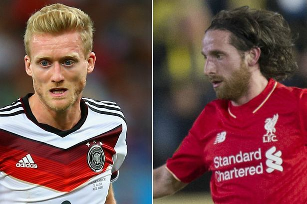 Liverpool FC transfer rumours: Andre Schurrle in, Joe Allen out?...: Liverpool FC transfer rumours: Andre… #LiverpoolvsLeicester #Liverpool