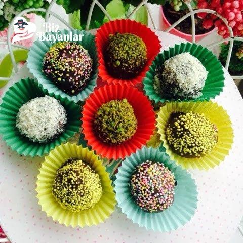 Muzlu Çikolatalı Truff Bizbayanlar.com  #Büsküvi, #CevizIçi, #Kakao, #Muz, #Süt,#KekTarifleri, #TatlıKurabiyeler http://bizbayanlar.com/yemek-tarifleri/kurabiye-tarifleri/tatli-kurabiyeler/muzlu-cikolatali-truff/