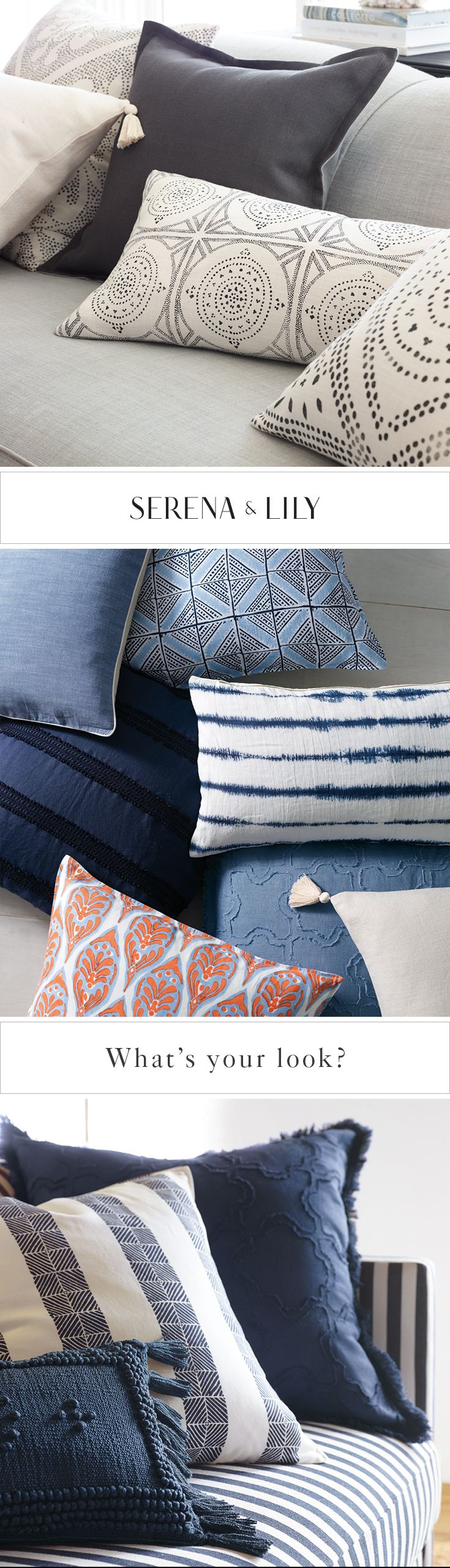 Set your foundation. Add texture. Make it pop. Explore all of our pillows and make combinations you will love.
