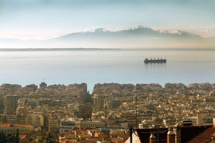 Panoramic view!!! @thessaloniki