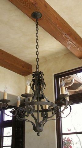 Hand Made Iron Chandelier Mediterranean Chandeliers San Go By Hacienda Lights And