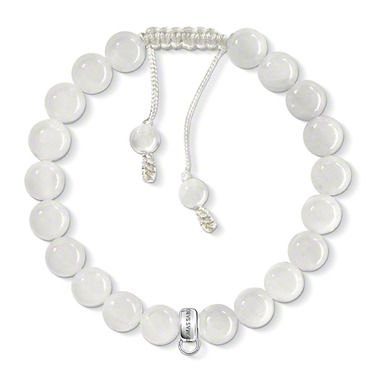 Thomas Sabo Charm bracelet white X0041-082-14-L Thomas Sabo wK7Klu