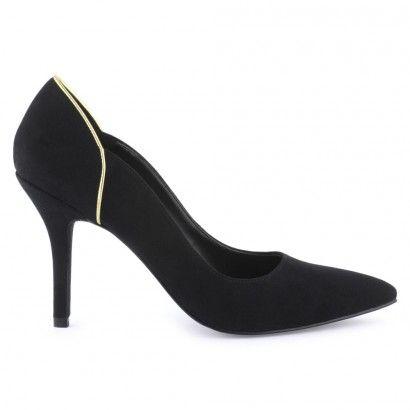 Escarpins noirs pour Femme : Escarpins Les Petites Chaudières - 45,00€
