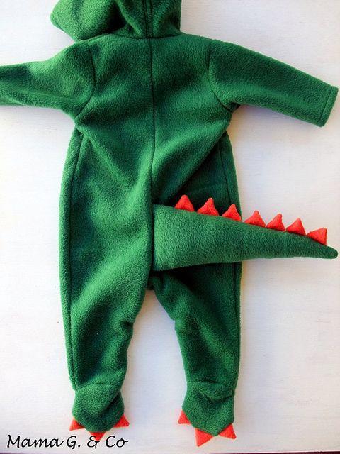Dinosaur Costume (2) by MamaGwenn1, via Flickr