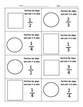 26 best partitioning shapes images on pinterest grade 2 fractions and second grade. Black Bedroom Furniture Sets. Home Design Ideas