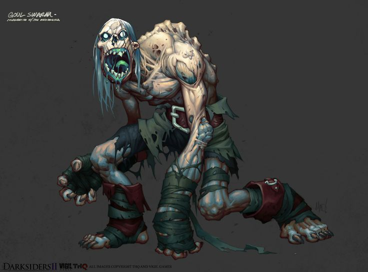 Darksiders 2 - Swarming Zombie DUDES by aecoleman - Avery Coleman - CGHUB via PinCG.com