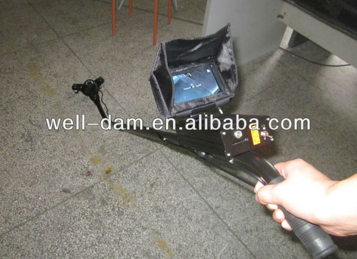 """Night Vision UL Under Vehicle Inspection Camera, Car DVR Vehicle Accident Inspection Camera"""