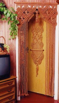Штора-макраме (DIY, подборка) / Шторы / Своими руками - выкройки, переделка одежды, декор интерьера своими руками - от ВТОРАЯ УЛИЦА
