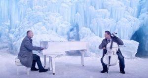 """Impresionante mix de""""Invierno"""" deVivaldi ylacanción """"Let ItGo"""" de""""Frozen"""""""