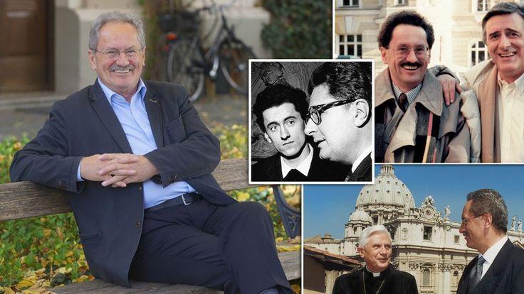 Ein Schwabinger wird 70: Christian Ude auf einer Bank am Kaiserplatz. Uns zeigt er Bilder aus seinem Leben.  Foto: dpa/ho