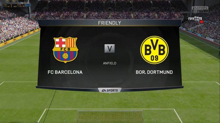 FIFA15: FC Barcelona Vs Bor.Dortmund Full HD