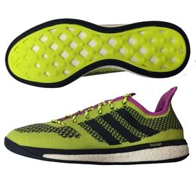 adidas indoor soccer shoes for men. sale $119.95 - adidas primeknit boost indoor soccer shoes (solar yellow/white/collegiate for men