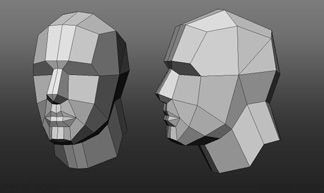 (very) Low poly head modeling question - Polycount Forum