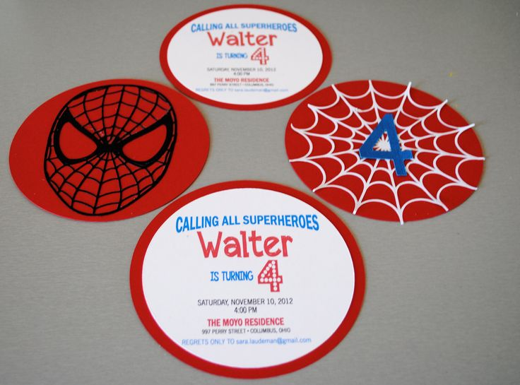 Invitaciones Spiderman - Visit to grab an amazing super hero shirt now on sale!