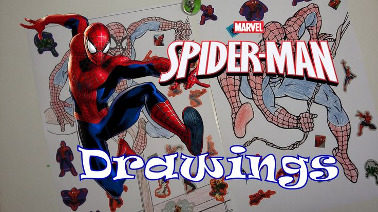 Spiderman Drawings + Surprise Egg!!!