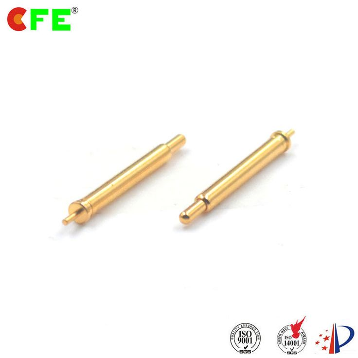 The Pogo pin spring plunger design is considered the best compromise for electrical performance and mechanical reliability. However, for arrays, the Pogo pin method can not achieve 50Ω contact in a region array device because it is virtually impossible to produce a pin with a characteristic impedance of 50 W and is suitable for