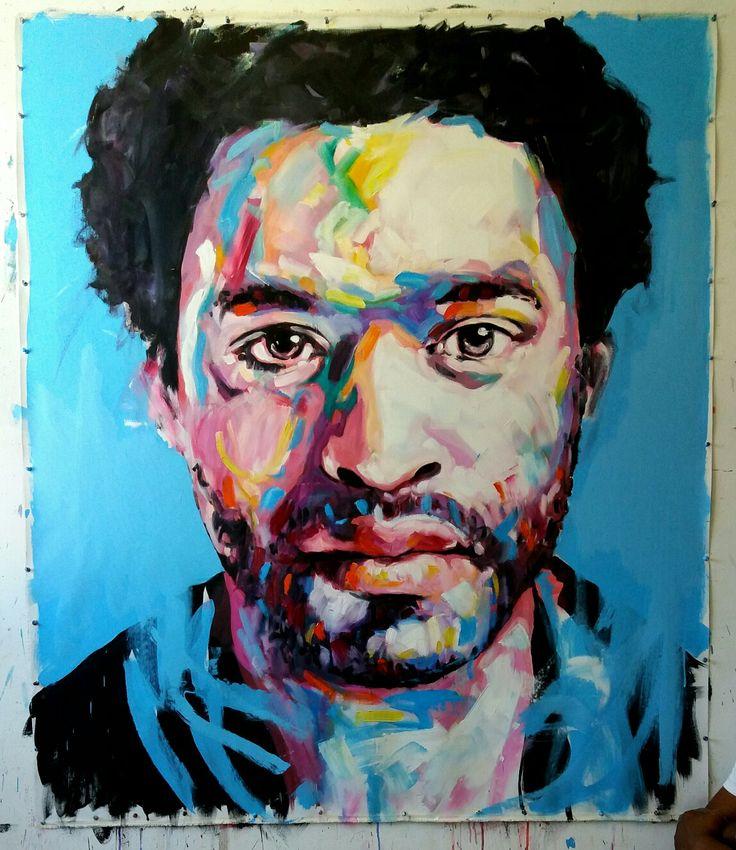 Jerson Jimenez, 2017, Oil on Canvas, 150x120 cm.
