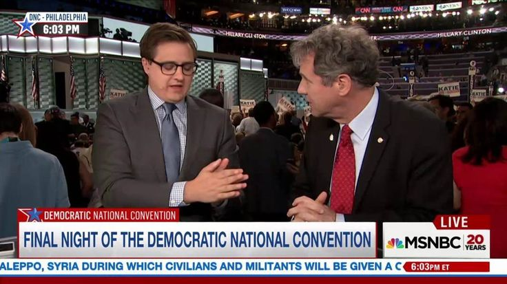The Ohio senator says the Democratic National Convention has been 'a whole lot less dark' than the GOP convention last week.