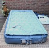 twin size aero bed air mattress, available on my craigs list!