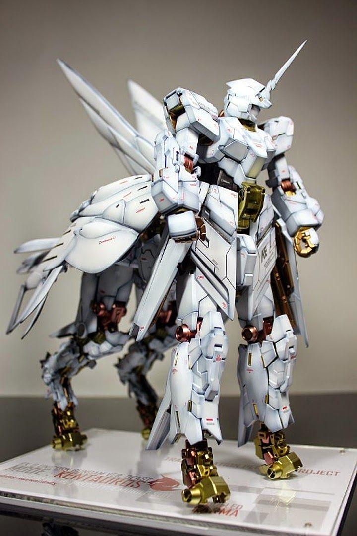 GUNDAM GUY: 1/100 RX-0 Unicorn Gundam Beast Mode 'Pegasus' - Custom Build