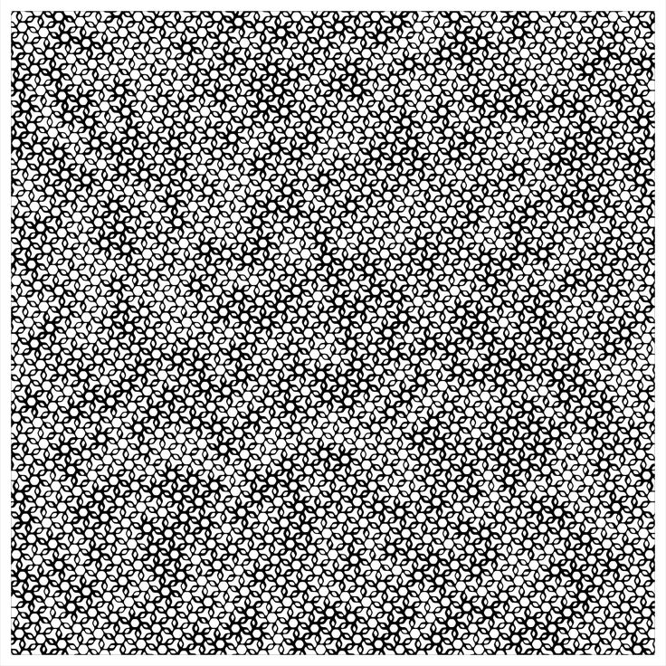 "'Signal & Noise 08-02-2017 # 2' © 2017 Titus Hora  150 x 150cm (54"" x 54"") digital print #abstract #procedural #parametric #generative"