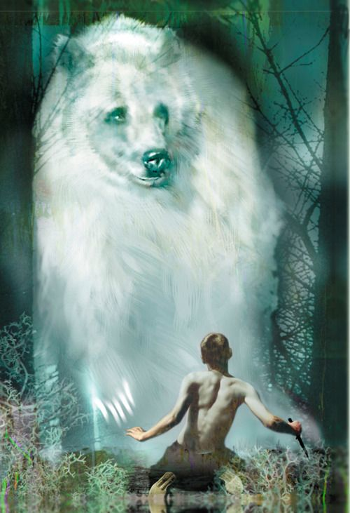 I Am Bear.  I come forward representing the North. It is the direction of the animal kingdom, embodies wisdom and logic, and opens you to receive energy.  I stand with our Mother Earth. We honor Her Summer Equinox and give of our Spirit.   Spirit-Animals.com